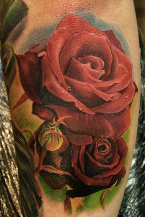 Pin By Alex Chavez On I Love Tattoo Rose Tattoos For Men Realistic Rose Tattoo Rose Tattoos