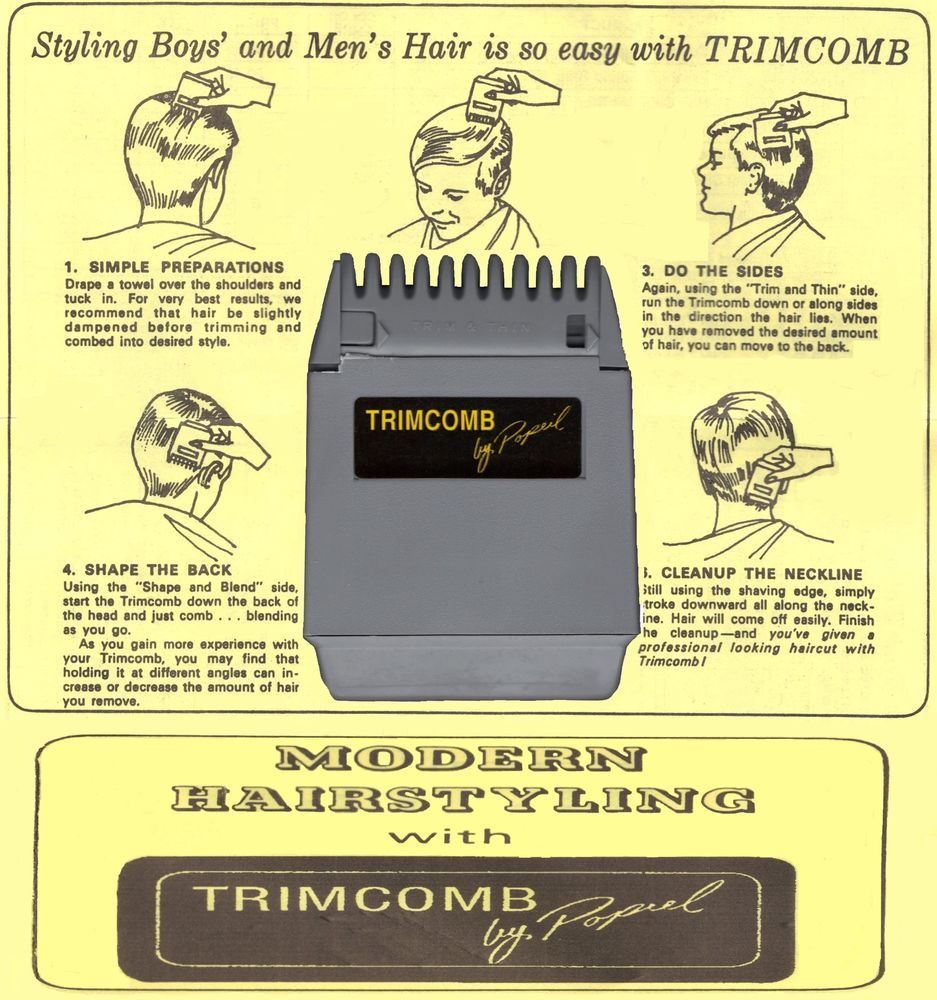 Ronco Trim Comb Free Postage Detailed Item View Wwwcoyote