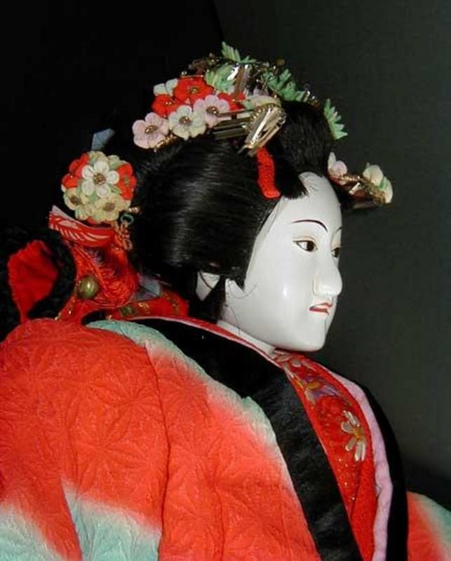 Full Size Japanese Bunraku Doll Genuine Japanese Dolls Japanese Dolls