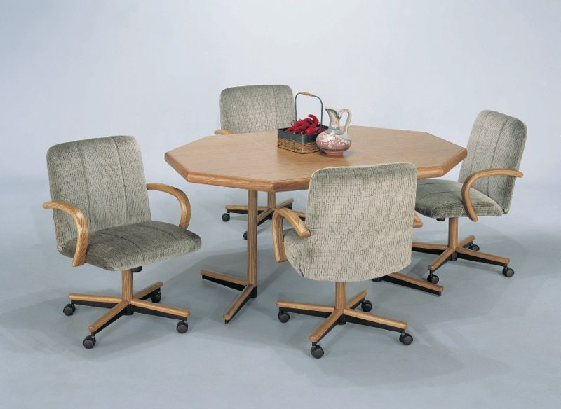 Ordinaire Kitchen Table With Caster Chairs