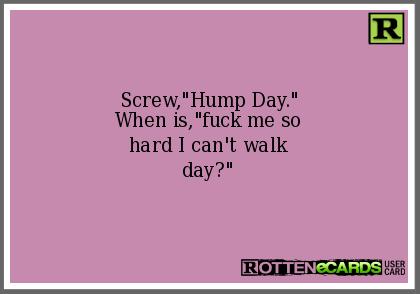 hump me hard