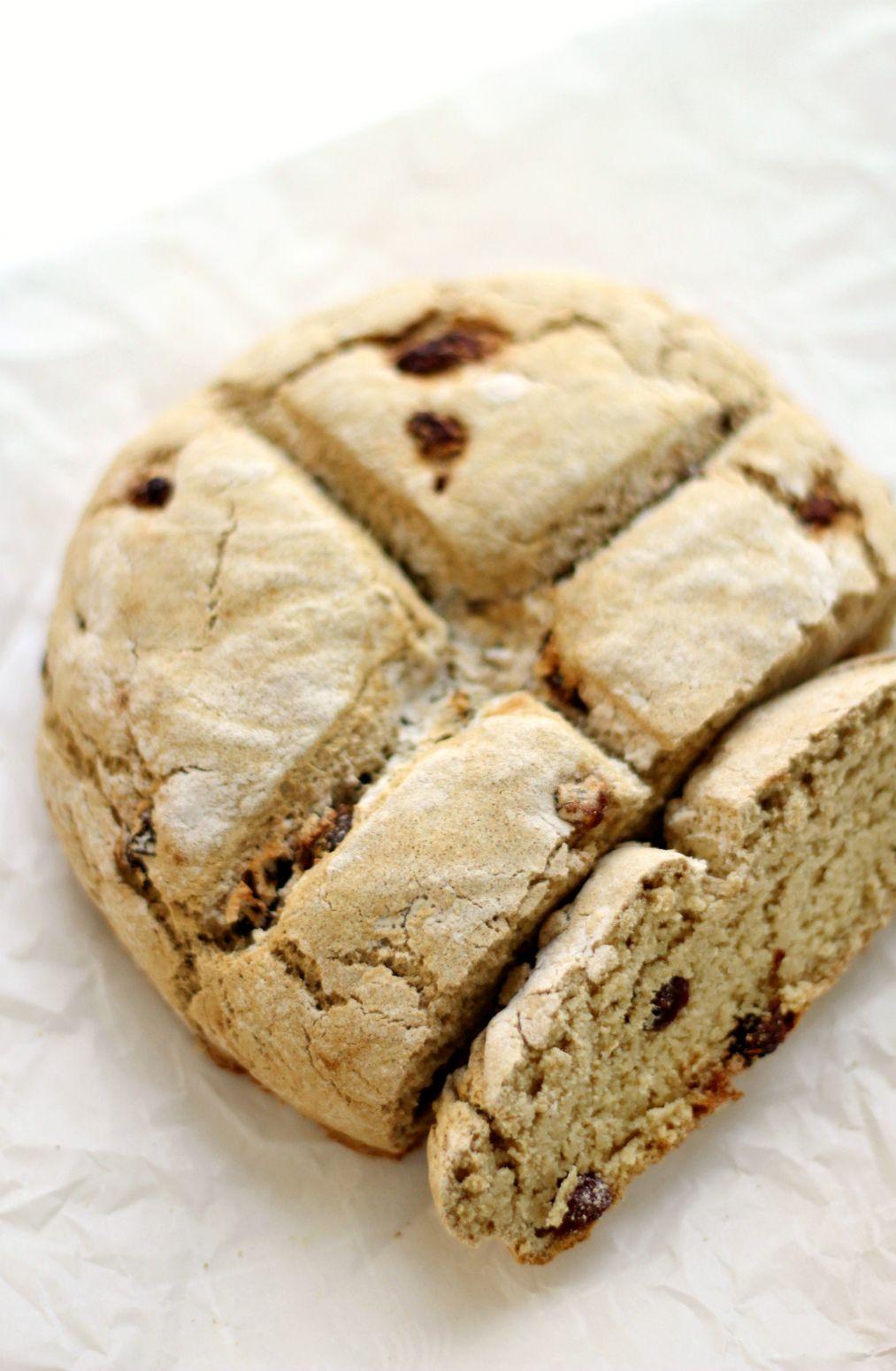 Traditional GlutenFree Irish Soda Bread Recipe Soda