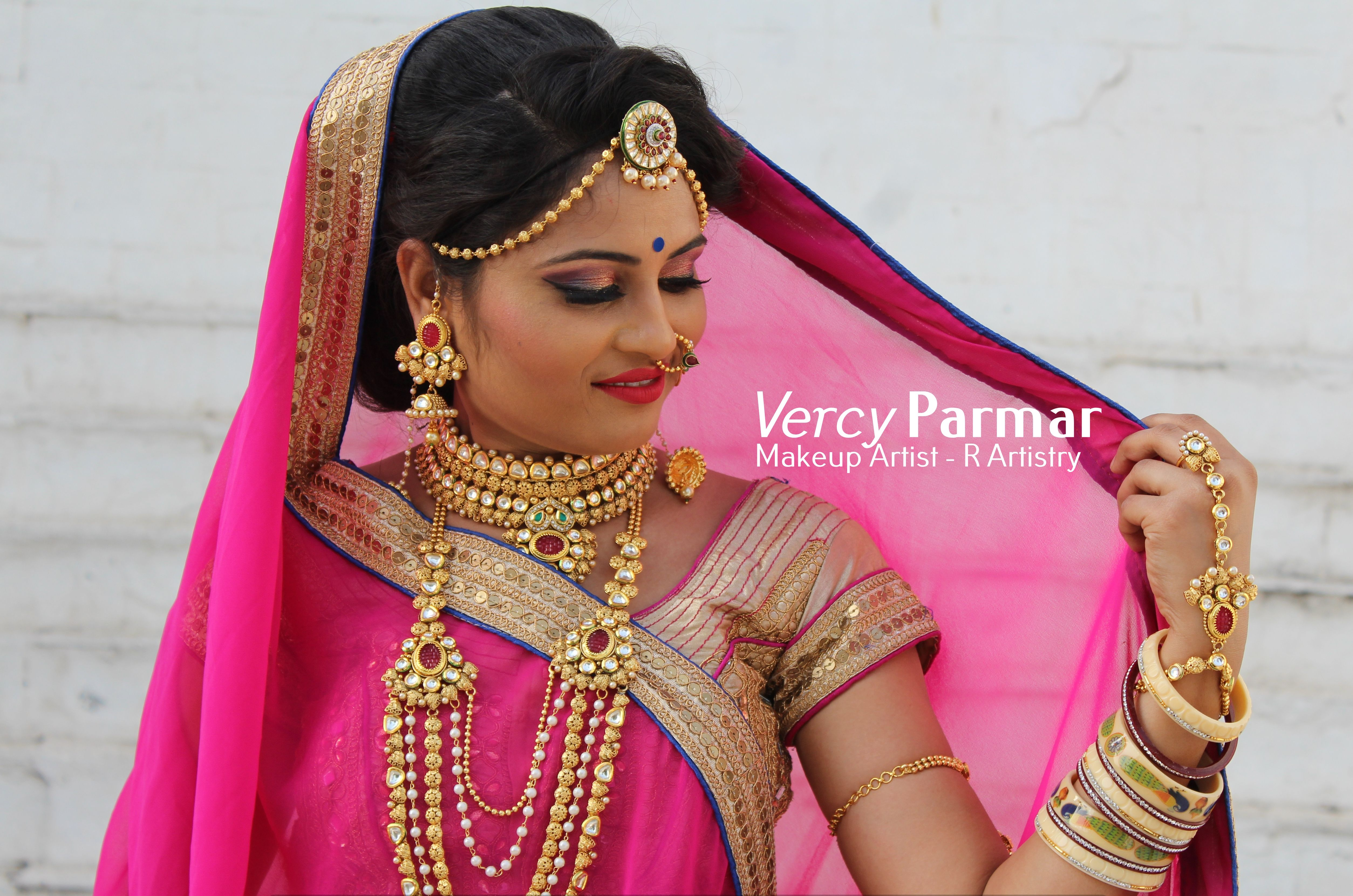 Vercy Parmar from R Artistry. The professional makeup artist based ...