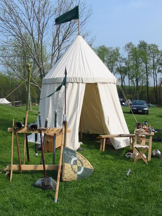 Medieval Tent C1415 Sca Camping Pinterest Medieval Tent And