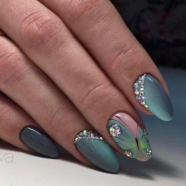 Маникюр | Дизайн ногтей | Micropintura | Pinterest | Diseños de uñas ...