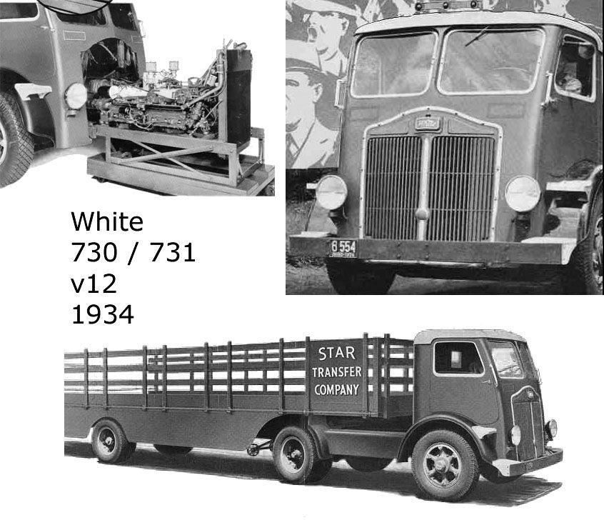 White Coe From 1935 Streamline White Truck Trucks