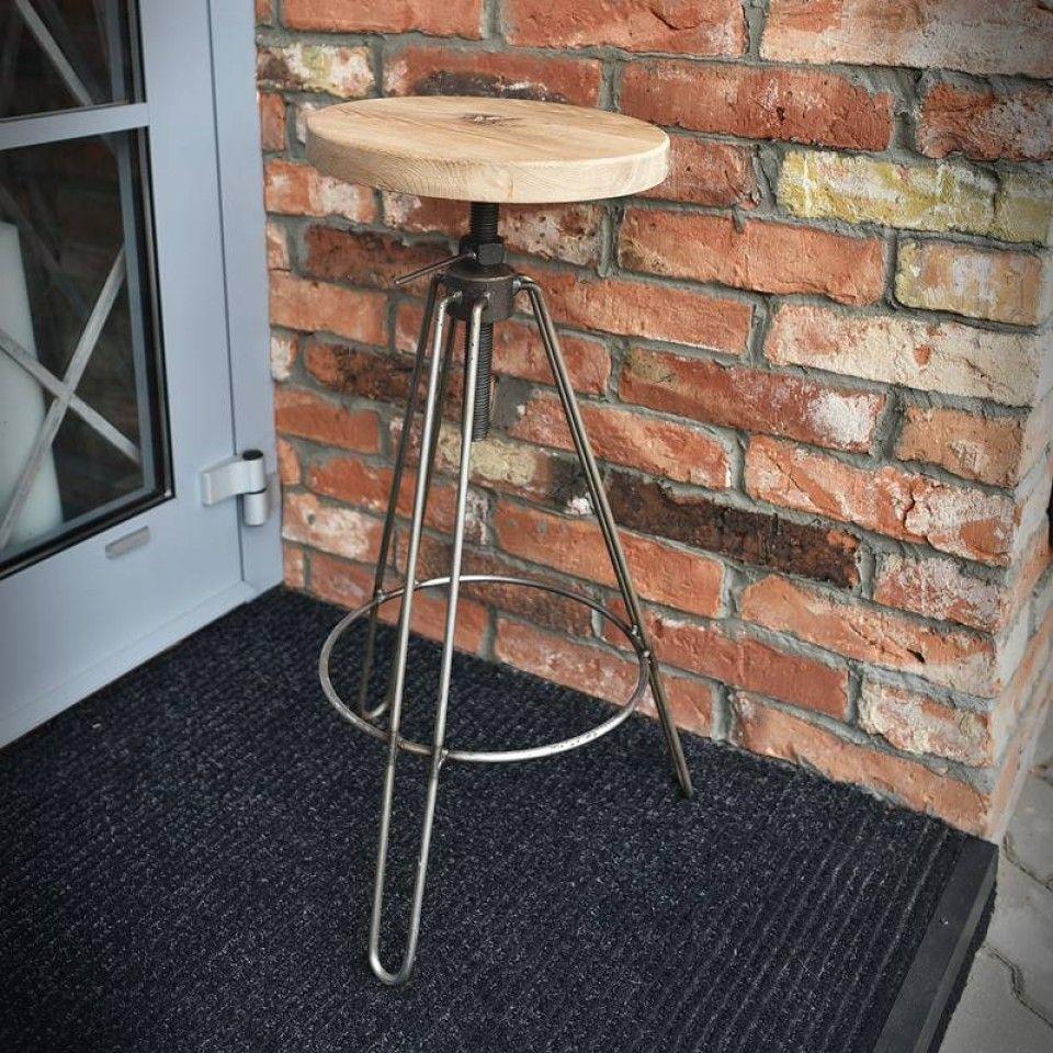 Krakk, barstol industrial hard MEM Møbler