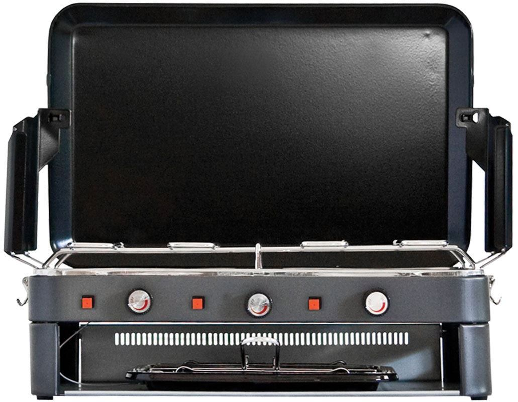 2 Burner Deluxe Stove Grill Camping Stove Best Camping Stove Camping Cooking Gear