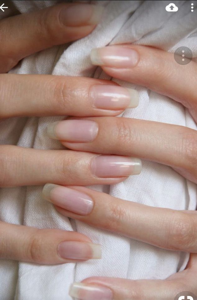 The Prettiest And Most Natural Nails On The Internet Internet Nageldesignsnatur Nails Natural Prettie Natural Gel Nails Long Natural Nails Natural Nails