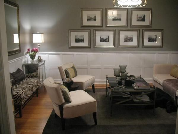 We Are Thinking Of Swapping Our Living Room With Dining Wainscoting