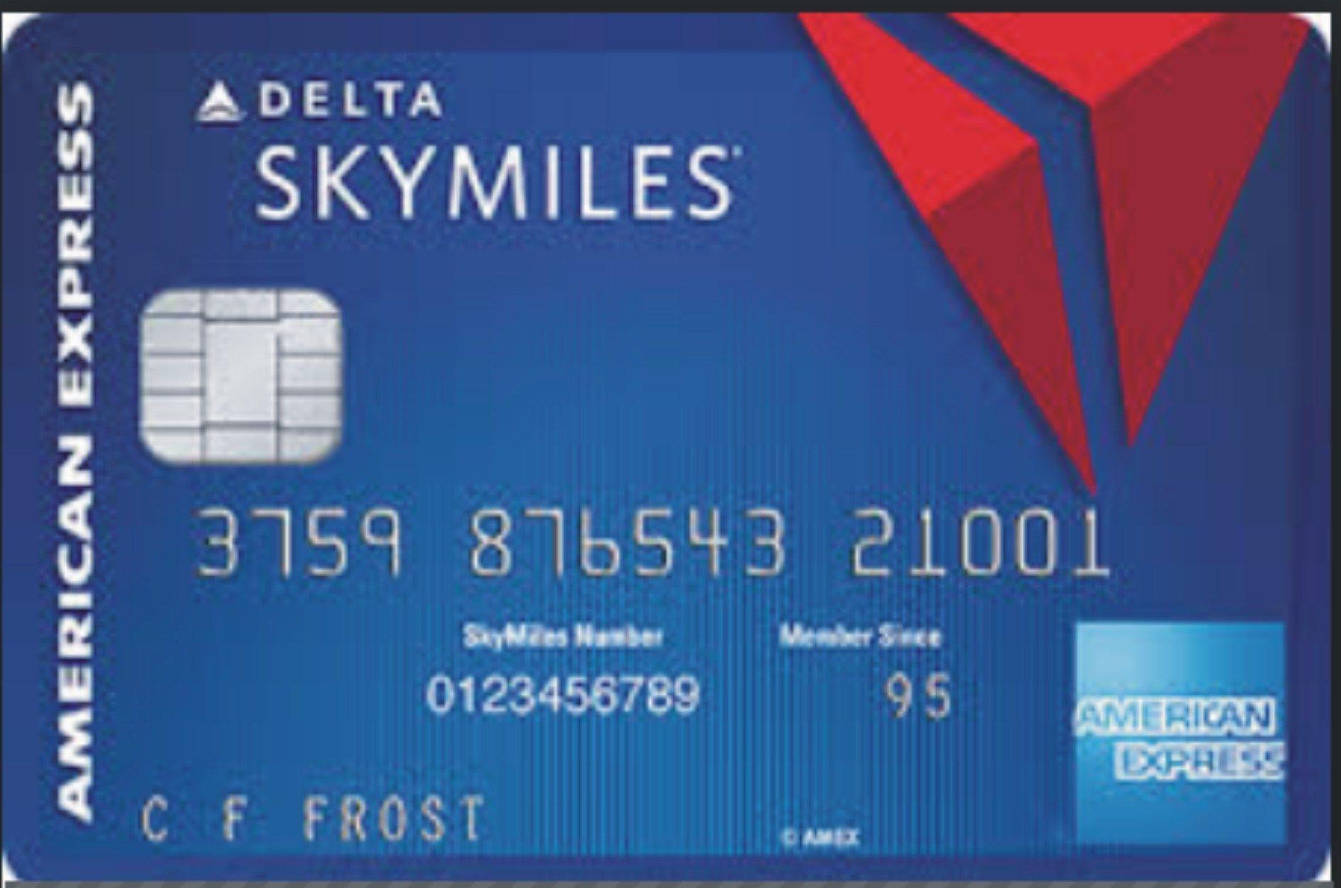Blue Delta Skymiles Credit Card Review Login Benefits Best