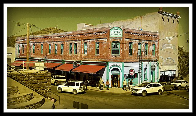Main Street Jerome Arizona Photograph by Ron Chilston