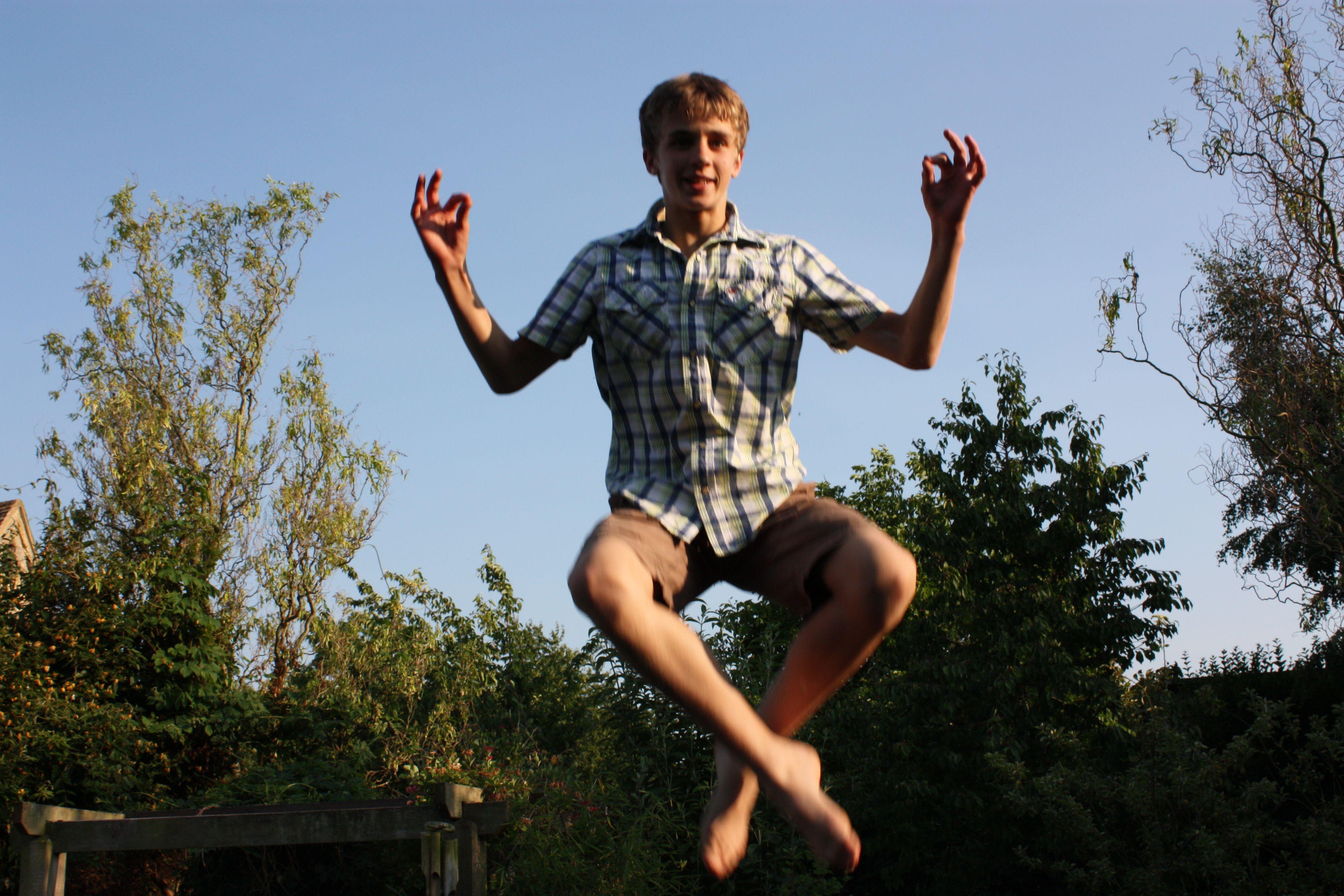Flying Guy  (c) RN Marshman