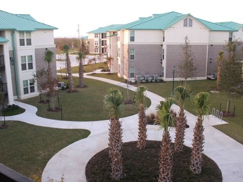 Student Faculty Housing Courtyard Southern University New Orleans College Fun Arkansas Baptist College Prairie View