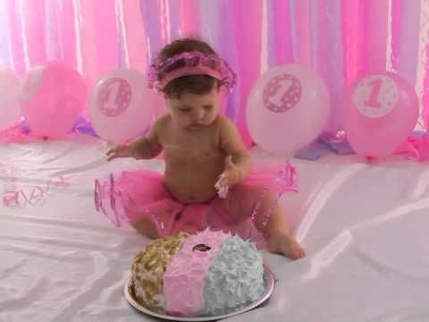 SESSÃO SMASH THE CAKE - Jolye - 1 ano - YouTube