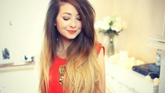 Zoella. Gorgeous long ombre hair!   Zoella.(zoe sugg)   Pinterest ...