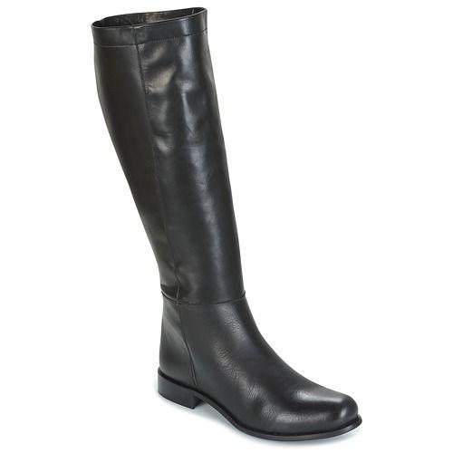 6288af579bb9 Topánky Ženy Čižmy do mesta Betty London HALARI Čierna