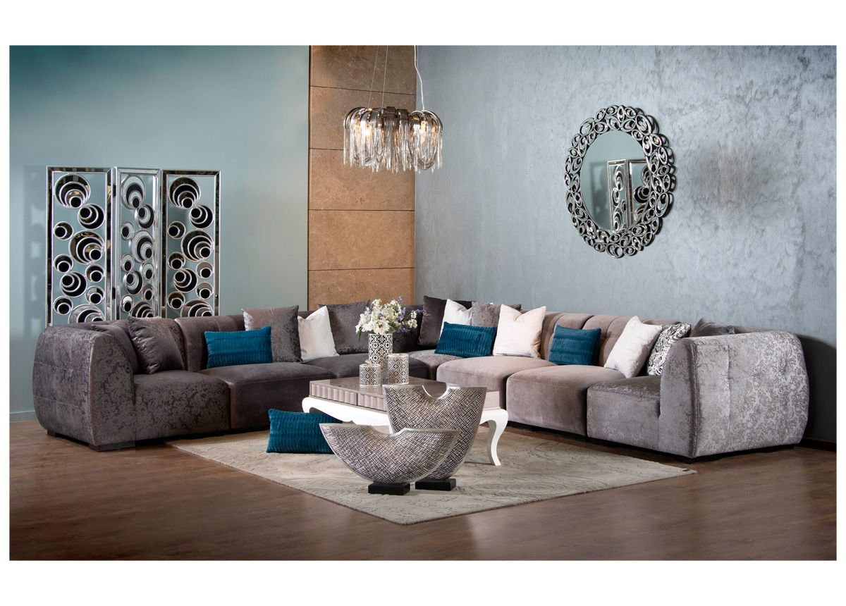 A corner sets with a stylish design to impress your modern for Home decor qatar