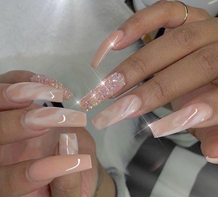 Pin By Evayalejandro Zaragoza On Nail Art Long Nails Cute Nails Cute Acrylic Nails