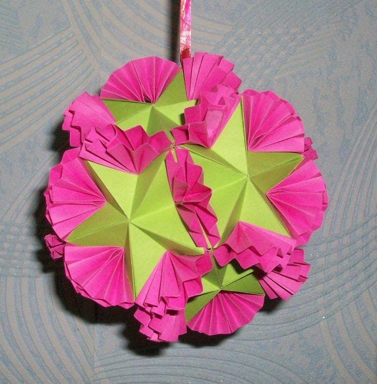 DIY Papierdekorationen für eine Hochzeit. Schüssel Kusudam Schmetterling (Teil 1)