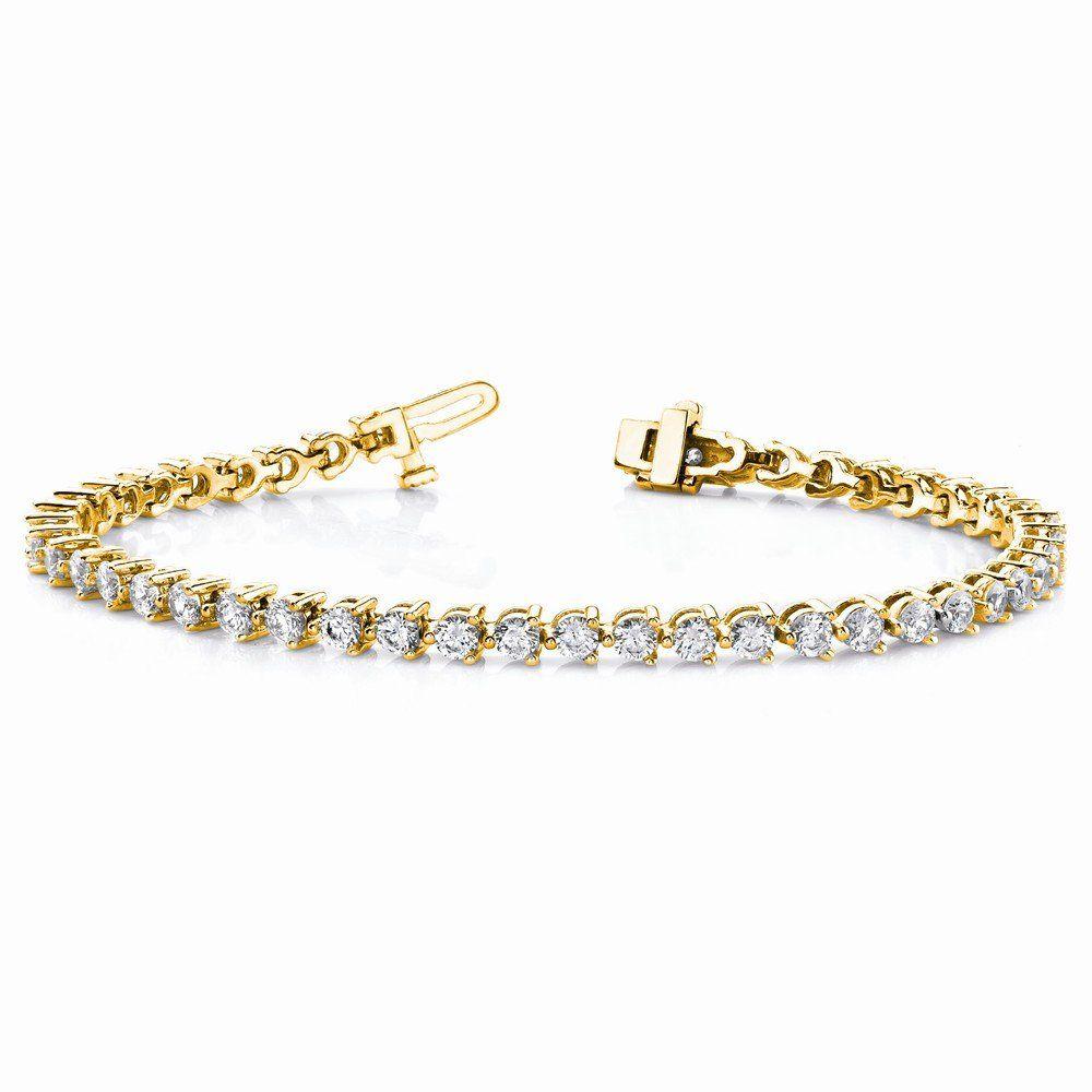 K diamond tennis bracelet mtg fine quality spectacularly