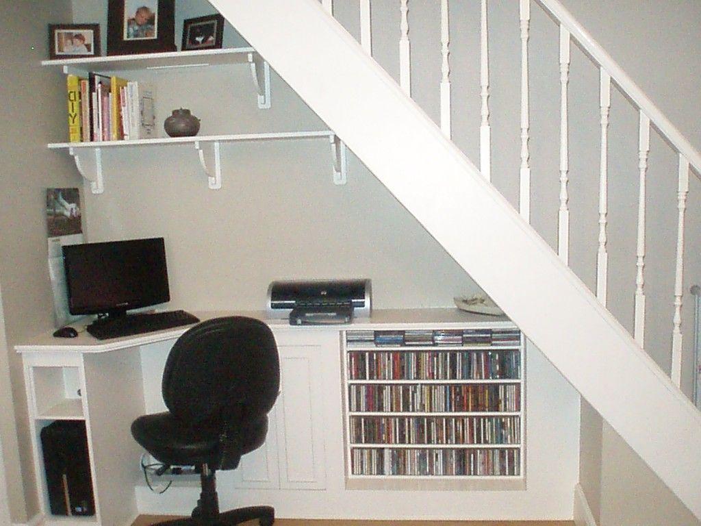 Des rangements pratiques sous lescalier Rangement Escaliers et