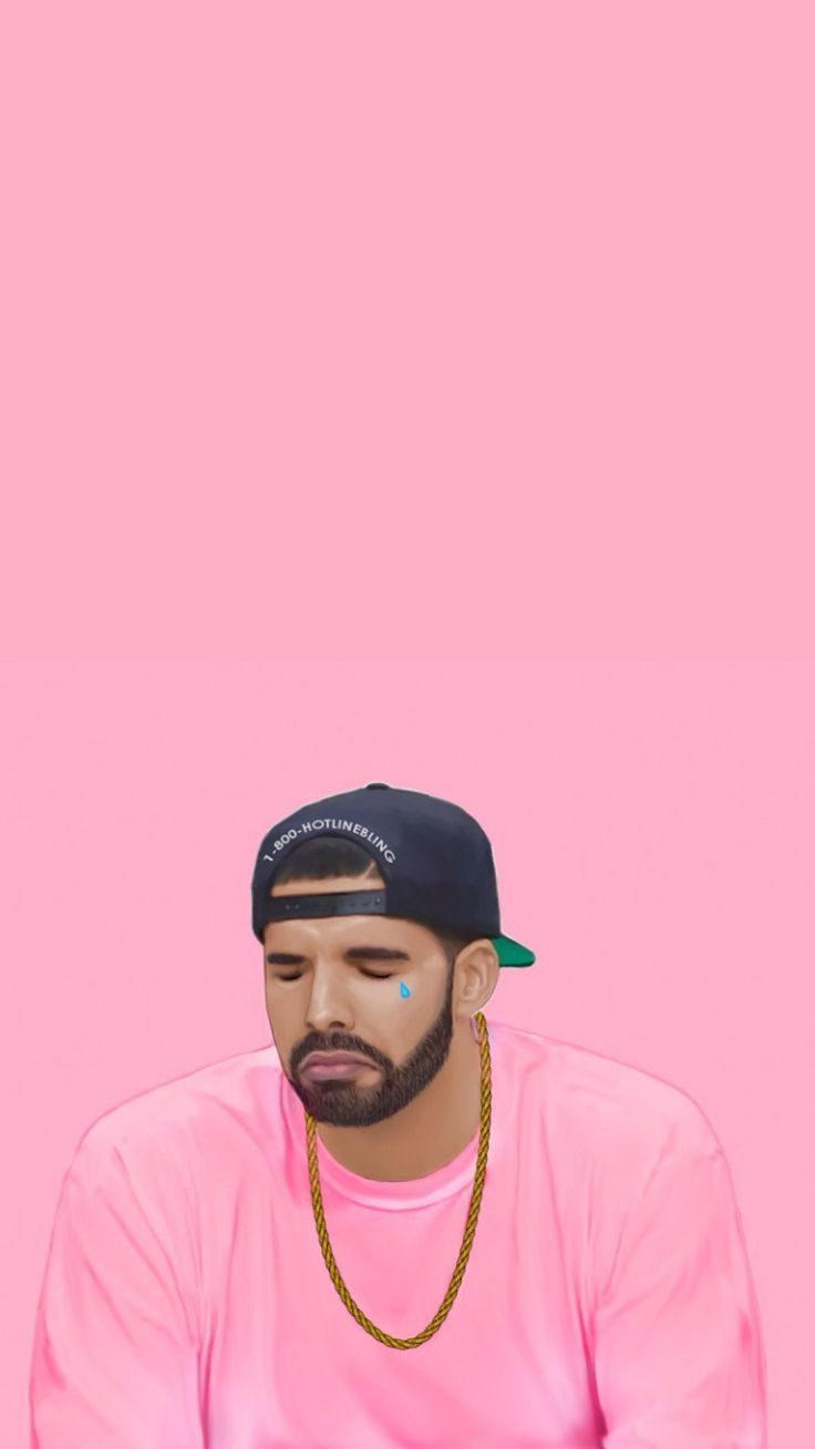 Crying Drake Hotline Bling Iphone Wallpaper Tear