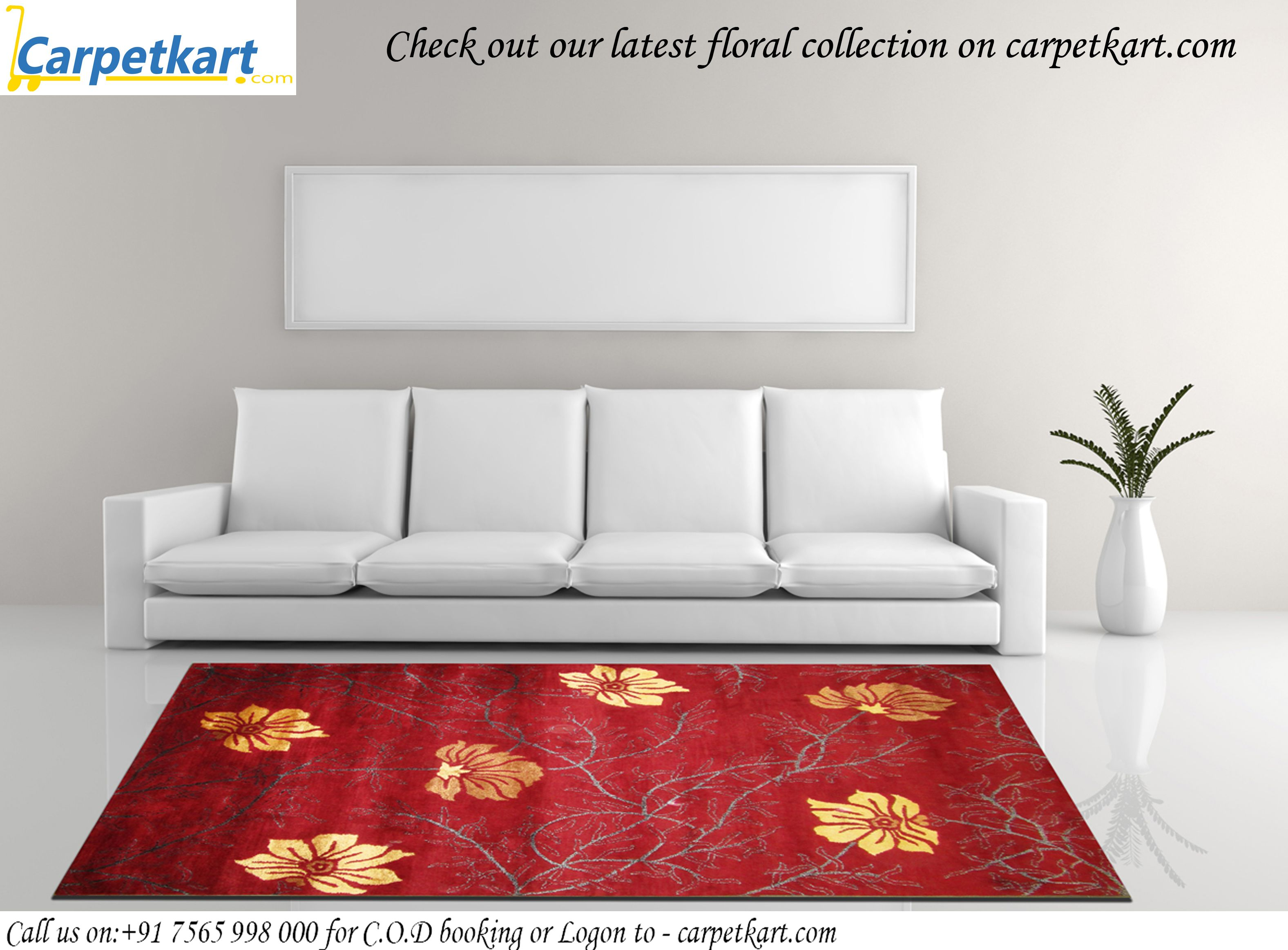 Latest Floral Carpets Rugs Collection From Carpetkart Com India S