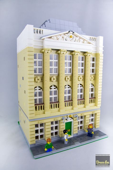 Bruce Lee built the Felix Meritis building, located in Amsterdam, which houses the Felix Mertis Foundation (an arts, culture and science center). The model is