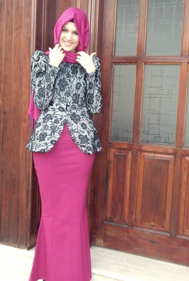Fashion Terbaru Murah Online Model Baju Batik Baju Muslim Modern