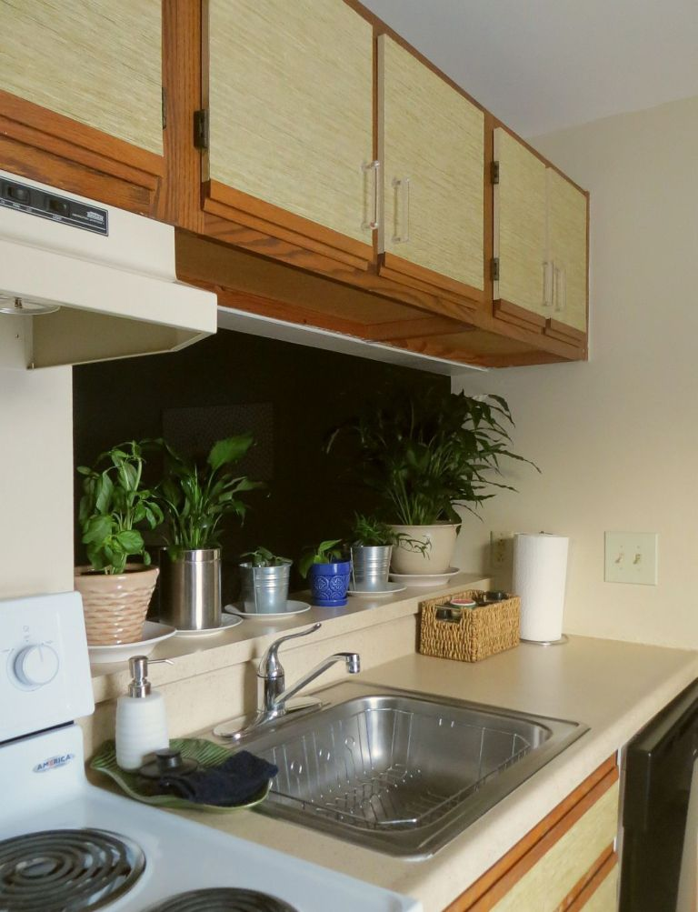 How to Make Over Your Kitchen Cabinets Without Paint - The ...