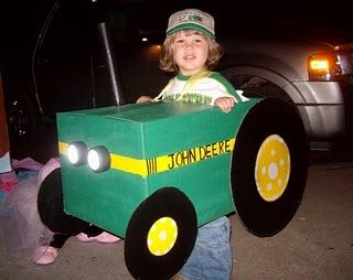John Deere Halloween Costume! Made this for our little one a few years back :)
