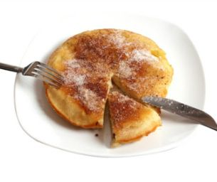 MACARONI RECIPE: APPLE GERMAN PANCAKES | This was the winning recipe in the first national recipe contest sponsored by Eggland's Best, submitted by Jennifer W. of Boise, Idaho.