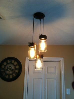 Allen Roth Vallymede 7 In Bronze Hardwired Standard Multi Pendant Light With