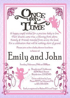 Find This Pin And More On Sisteru0027s Bridal Shower. U0027Once Upon A Timeu0027 Baby  ...