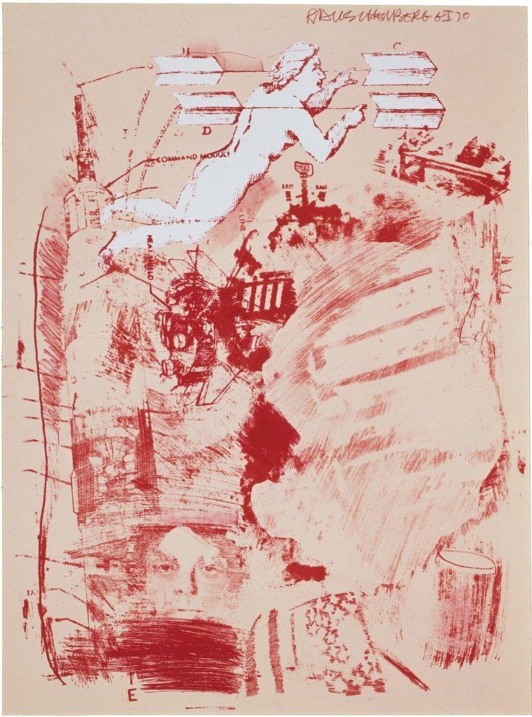 Robert Rauschenberg, Score, 1970, Gemini G.E.L. at Joni Moisant Weyl