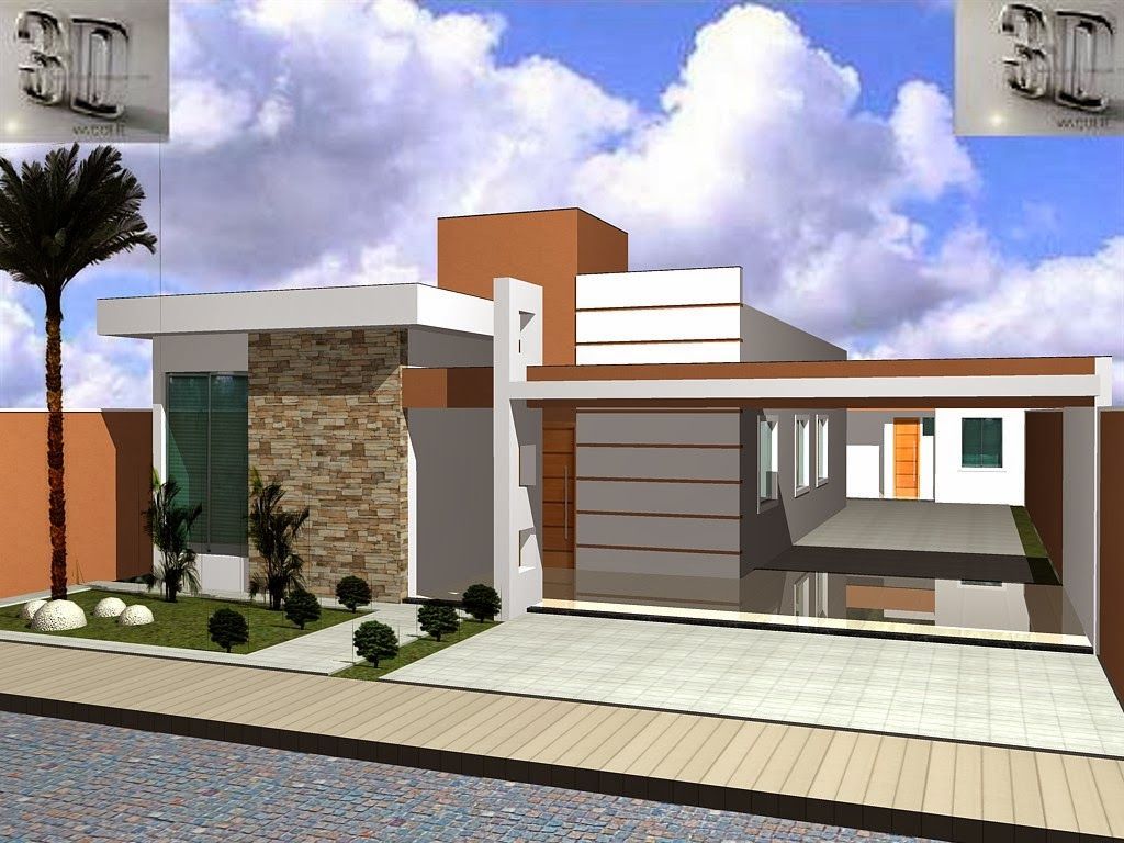 fachadas de casas modernas 2014 fotos modern and house