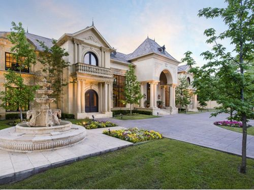 Estate Of The Day 3 4 Million French Country Mansion In