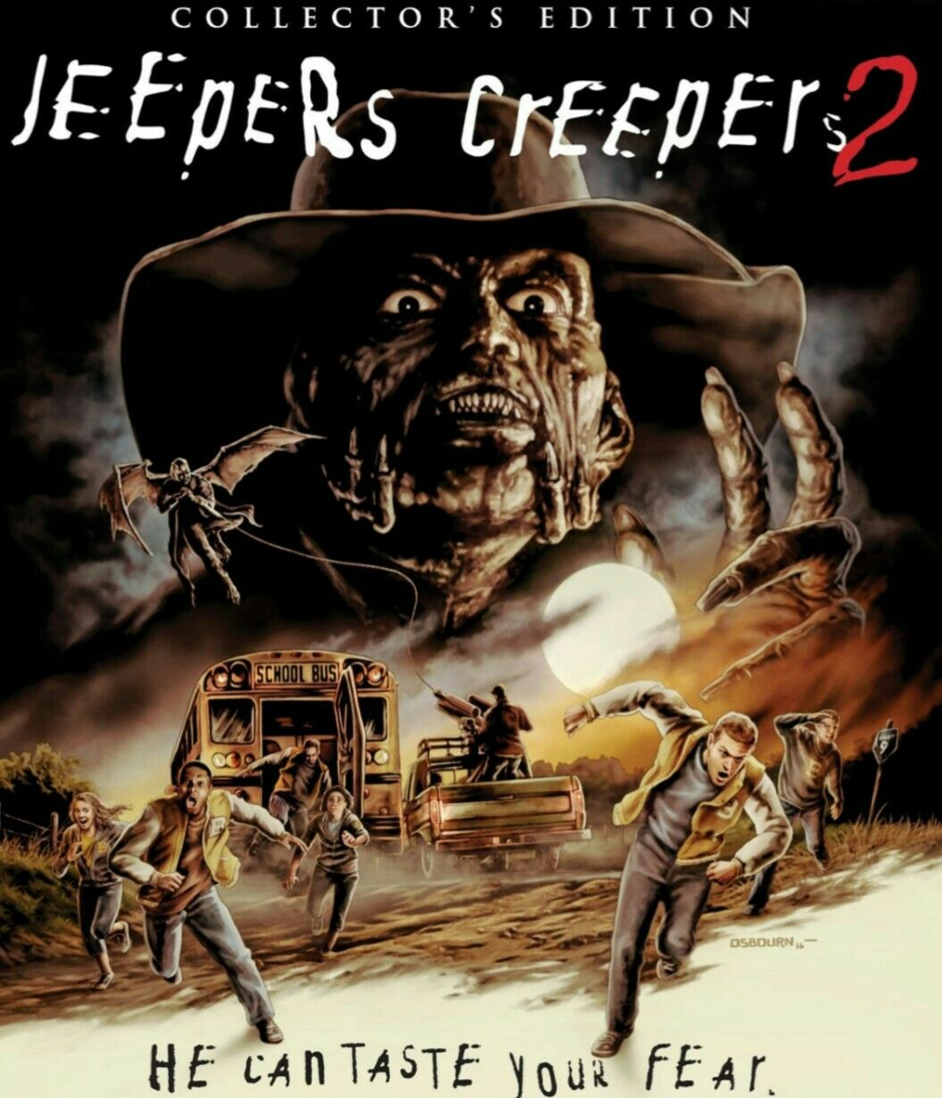 Jeepers Creepers 2 Horror Movie Poster Collector Edition Jeepers