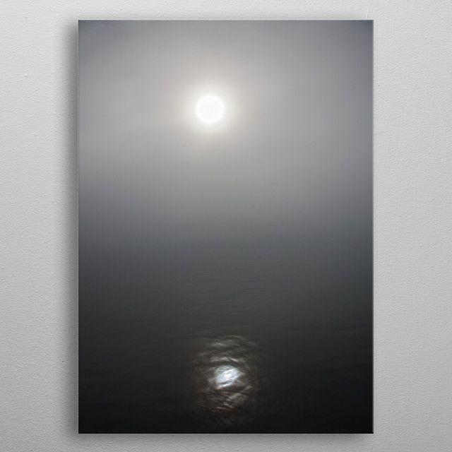 The sun peeking through the by FunkIT | metal posters - Displate | Displate thumbnail