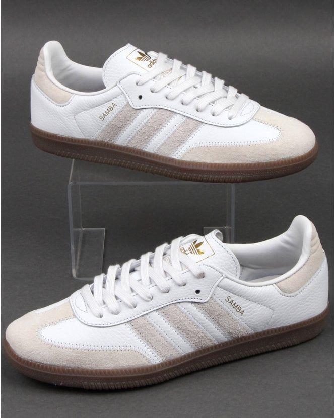 capitalismo flaco techo  Adidas Samba Og Ft Trainers Crystal White   Adidas trainers, Adidas samba,  Indoor football shoes