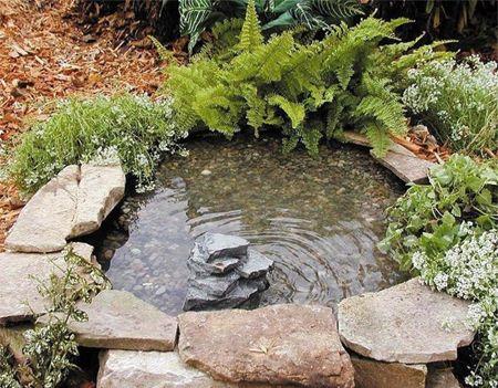 Ein kleiner Teich für deinen Garten! Dieser DIY Teich wird ein - gartenanlagen mit teich
