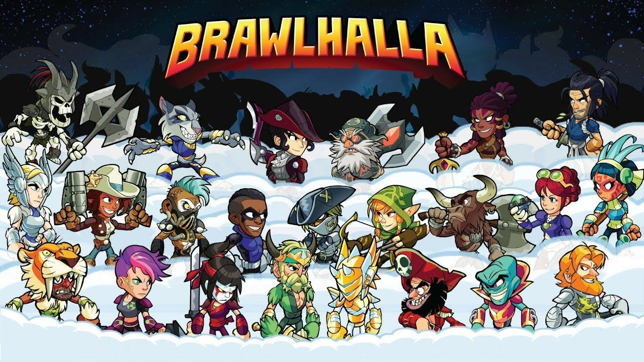 Brawlhalla Gameplay My First Time Playing Free to play