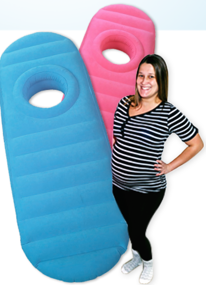 The Cozy P Is Pregnant Mothers Best Friend This Maternity Mattress Allows