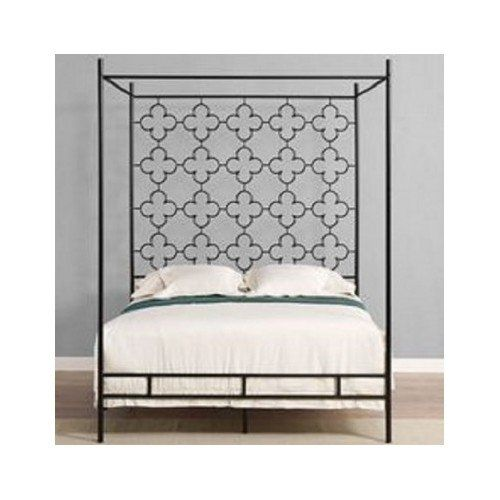 Amazon.com: Queen Metal Canopy Bed Frame - BDSM | private | Pinterest