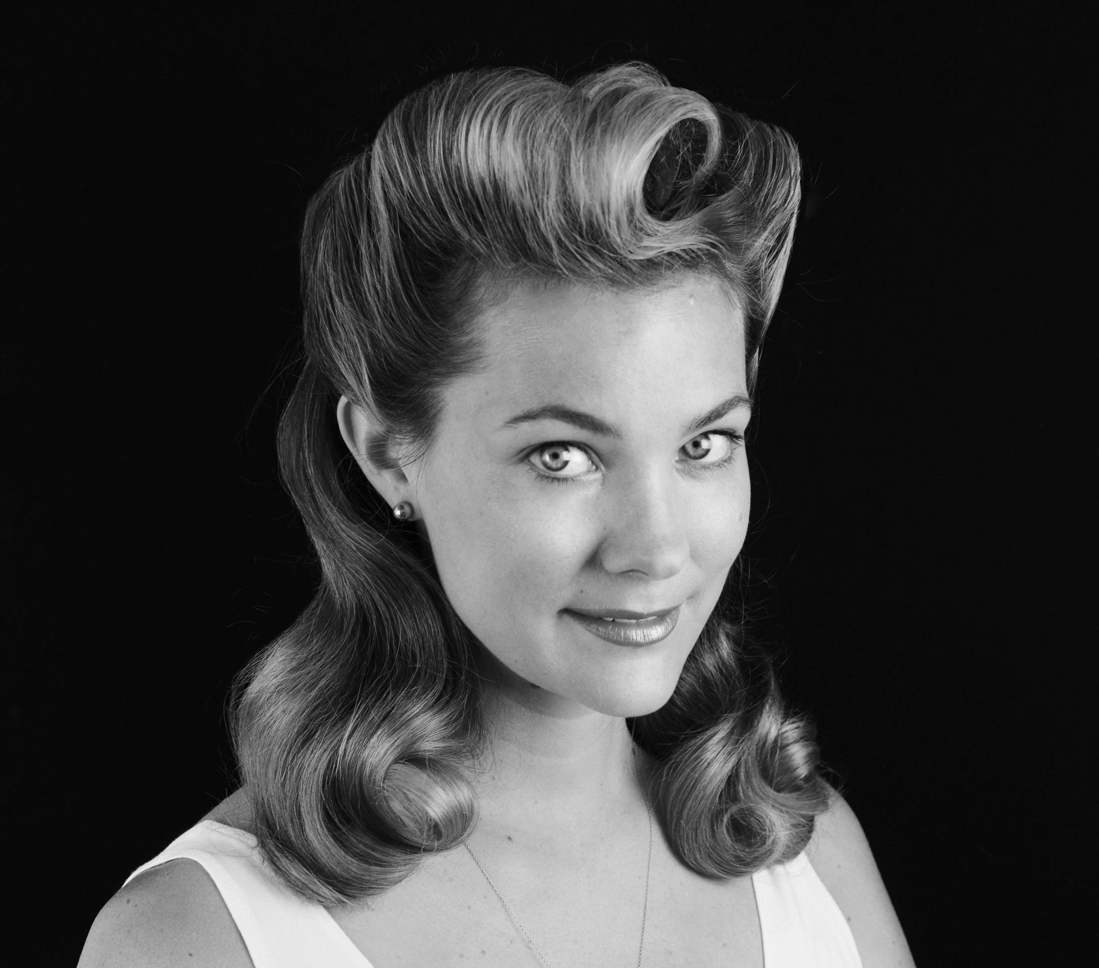 Get the Look 1940's Hairstylists, Makeup and 1940s hair