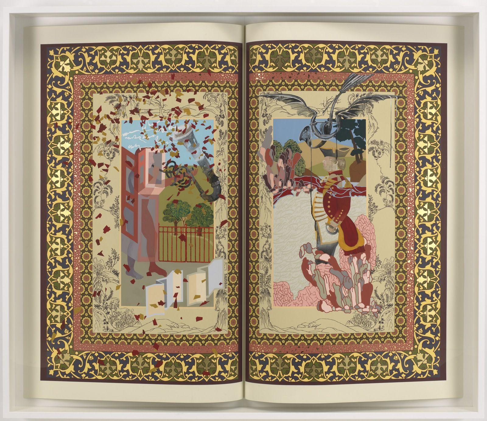 Shahzia Sikander Pilar Corrias The Explosion Of Company Man Mini Pomade Hiroshi 22 Gr Artist