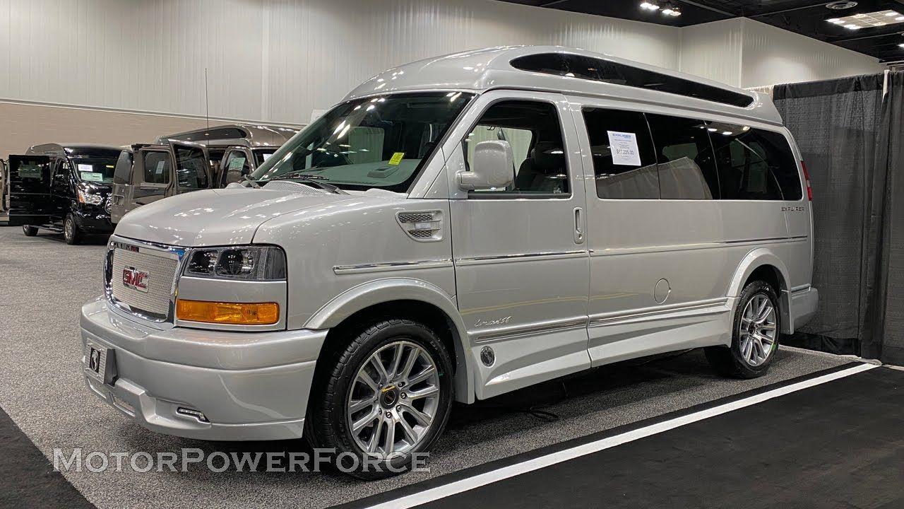 2020 Gmc Explorer 7 Passenger Travel Van In 2020 Gmc Vans Gmc Cargo Vans For Sale