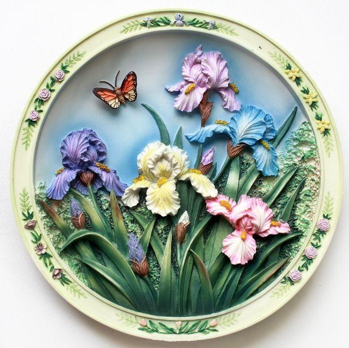 кашки картинки тарелочки с цветами декораторами