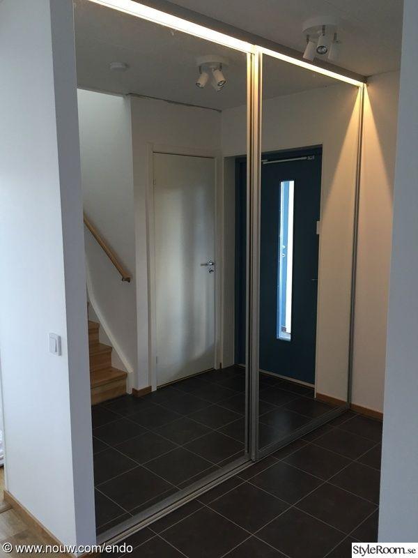 garderob hall skjutdörrar